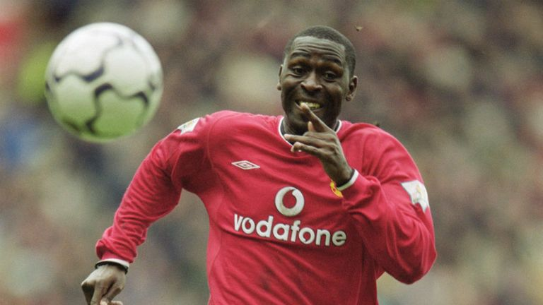 Andy Cole won five Premier League titles at Manchester United