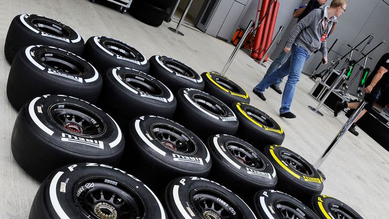 The medium and soft tyres will be used in Brazil