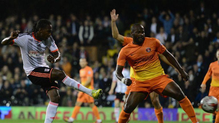 Hugo Rodallega: Nets Fulham's second goal against Charlton