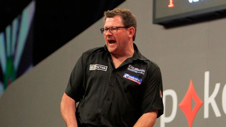 James Wade: Staged a remarkable comeback in the final in Edinburgh