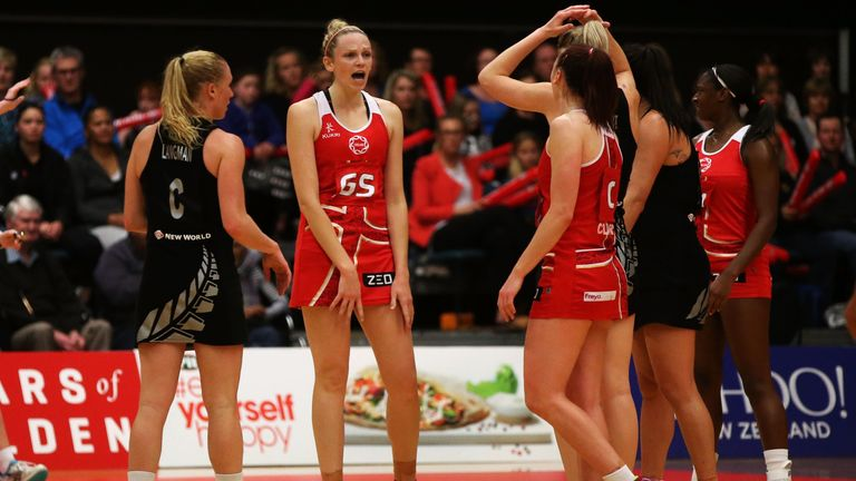 England will be looking for a win in the Netball World Cup this summer