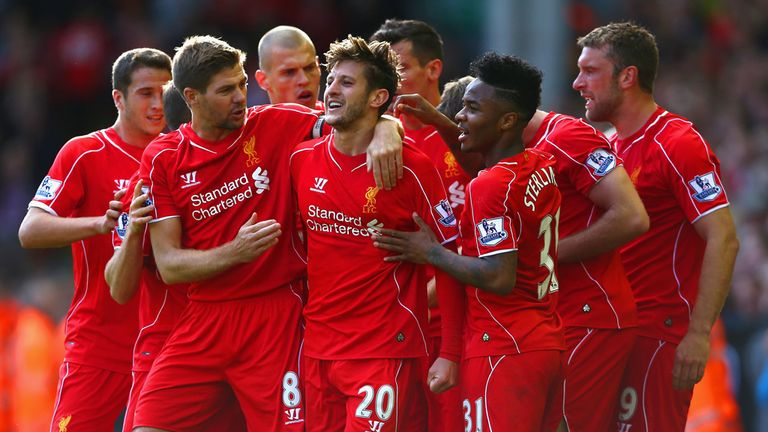 Adam Lallana: Left on the bench as Liverpool were beaten by Newcastle