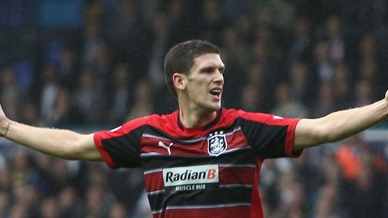 Mark Hudson: Takes the armband from Lee Peltier