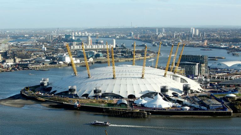 The ATP Finals have been held at London's O2 since 2009