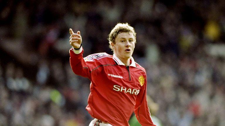 Ole Gunnar Solskjaer became an unlikely hero for United