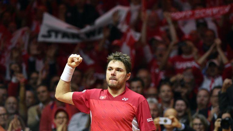 ABN AMRO: Stan Wawrinka into Rotterdam last eight | Tennis News | Sky Sports