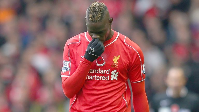 Mario Balotelli: Suffering from a groin injury