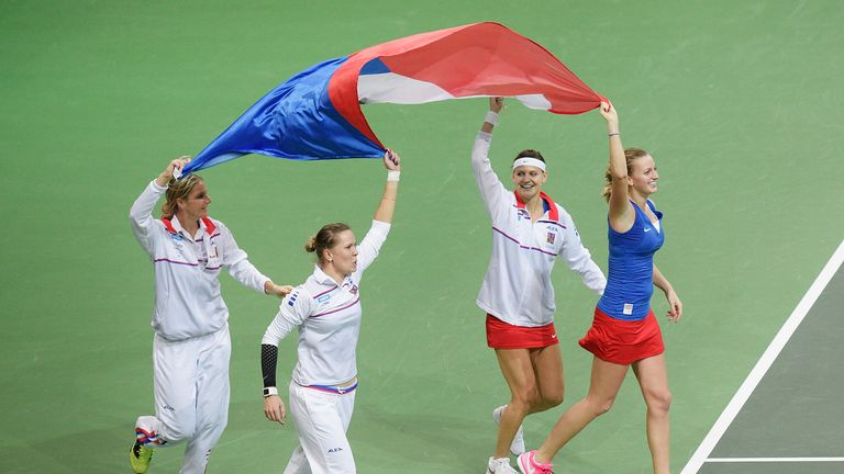 The Czech Republic will be hoping for more celebrations in Prague after last year's final success