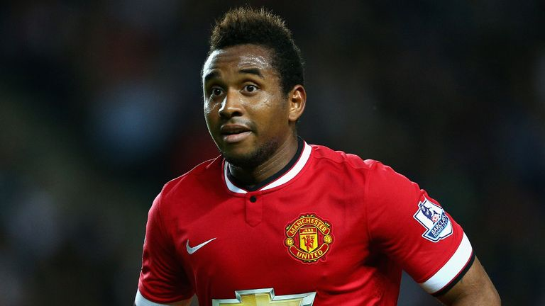Anderson fell out of favour at Man Utd before leaving the club to return to Brazil