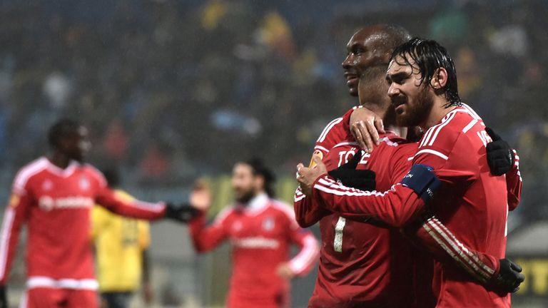 Besiktas: Drew 2-2 at Asteras Tripolis