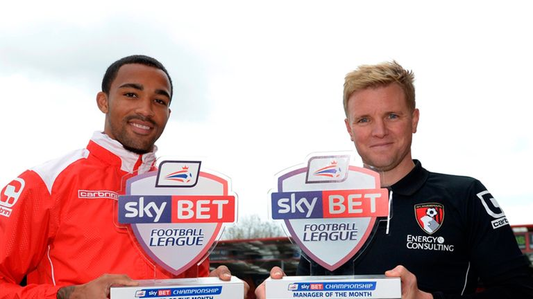 Wilson and Howe scoop October awards after Bournemouth's run of four straight wins lifted the club top of the table