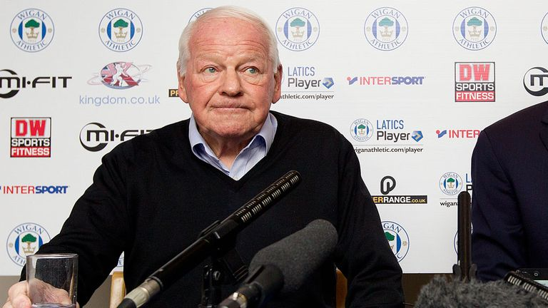 Wigan Athletic FC in administration
