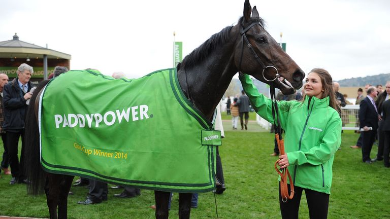 Caid Du Berlais, winner of The Paddy Power Gold Cup