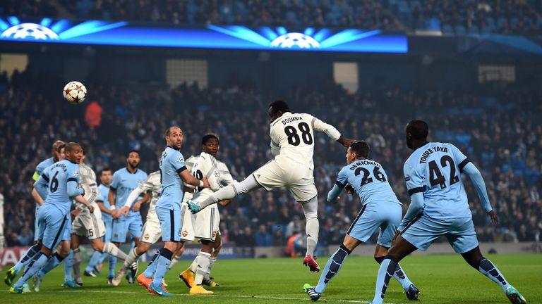 Seydou Doumbia breaks the deadlock on two minutes.