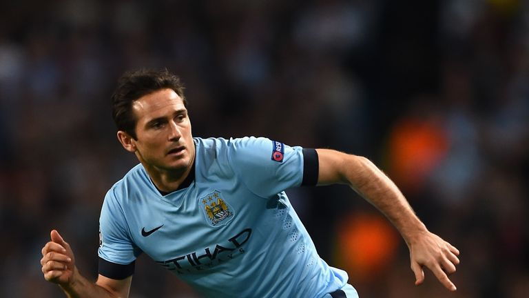 Premier League Frank Lampard Only Has Deal With Manchester City