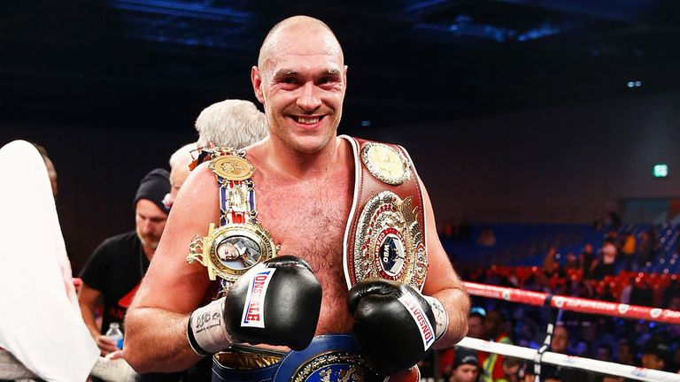 Fury will put his WBO international title on the line against Hammer