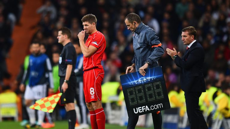 Gerrard didn't start against Real Madrid must Liverpool must keep him, Kammy thinks