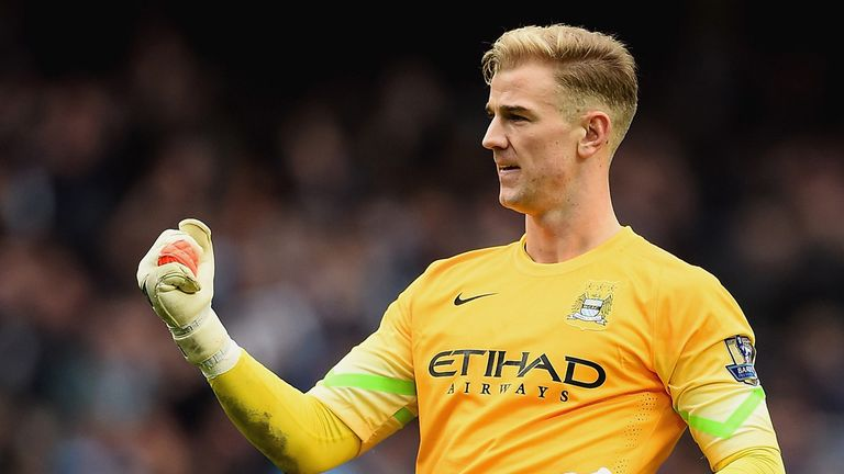 Joe Hart is one of five goalkeepers in contention for the Golden Glove