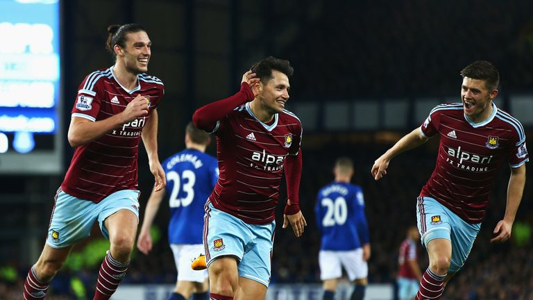 Could Mauro Zarate and Andy Carroll find themselves on the bench?