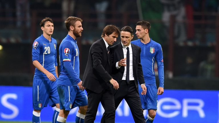 Italy topped their Euro Qualifiers group, going unbeaten in all 10 games
