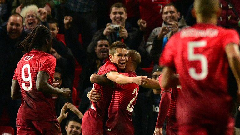Raphael Guerreiro: Scored a last-gasp winner for Portugal