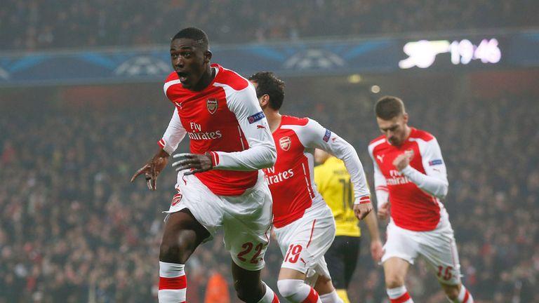 Yaya Sanogo: Set Arsenal on their way to victory