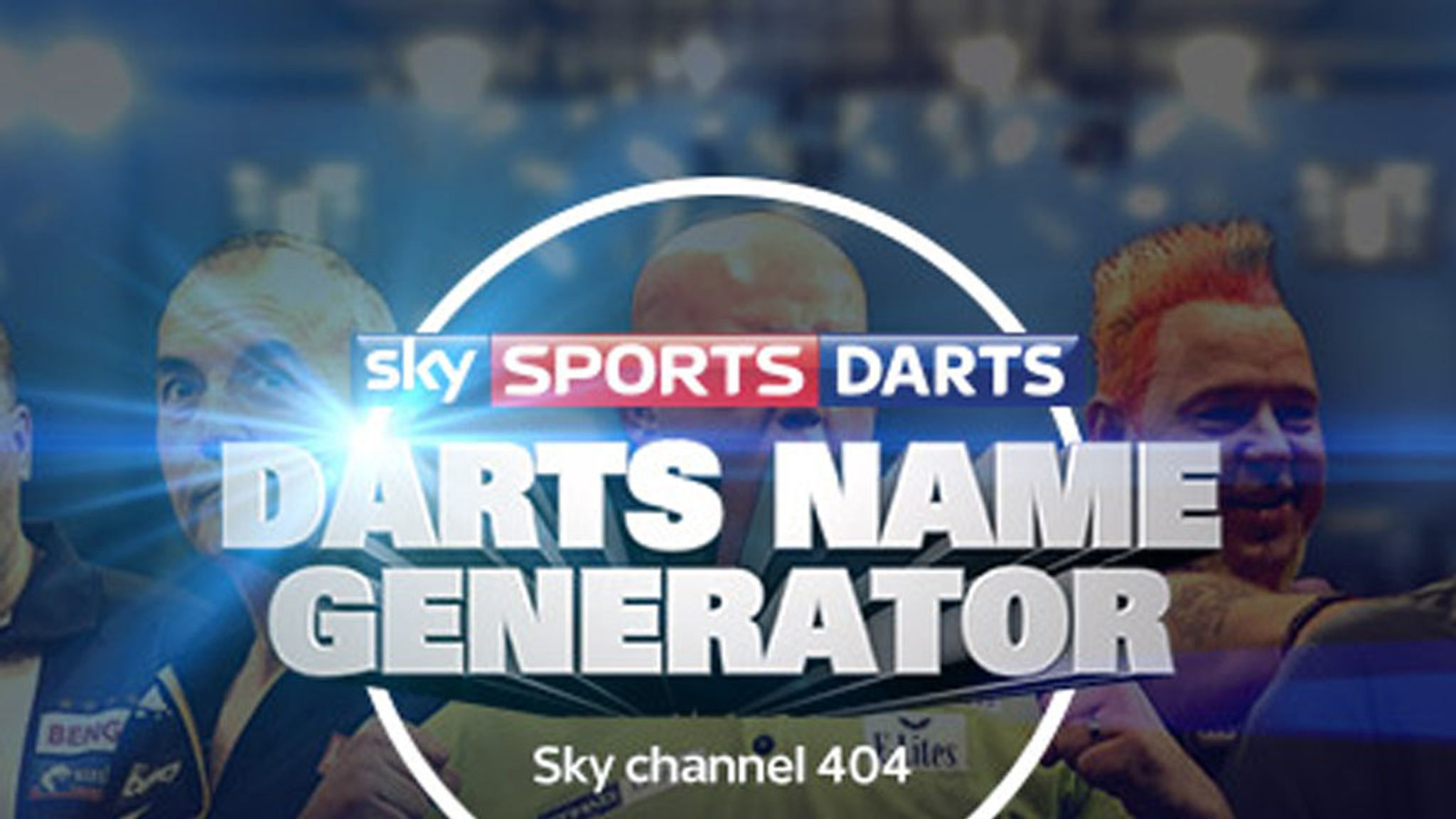 Name Generator: What's your darts nickname? | Darts News
