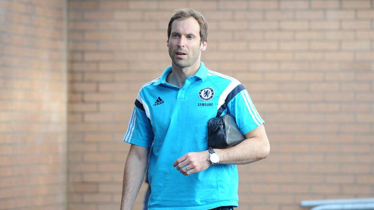 Petr Cech: Lost place to Courtois