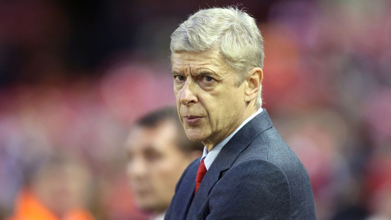 Arsene Wenger: The Arsenal boss changed his tactical approach against Manchester City.