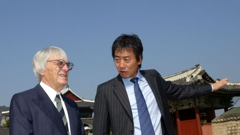 Bernie Ecclestone: Says Korea had to be added to the 2015 calendar