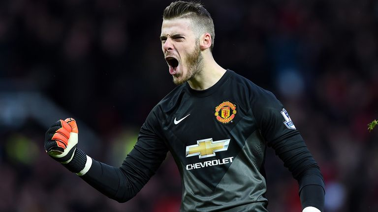David De Gea: gave a man-of-the-match performance against Liverpool