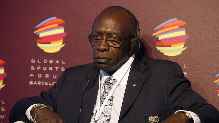 Former FIFA Vice President and CONCACAF President Jack Warner