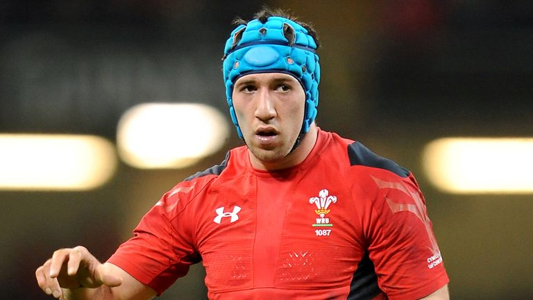Wales flanker Justin Tipuric will miss the your of New Zealand after suffering concussion during the Six Nations