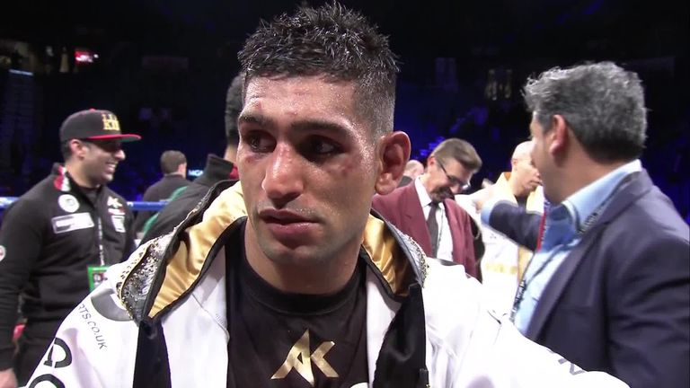 Amir Khan respects Floyd Mayweather's decision