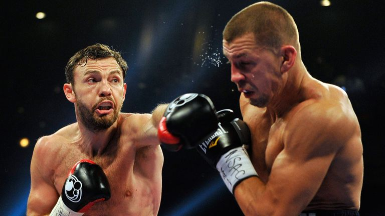 Andy Lee: Dramatically turned the fight in his favour