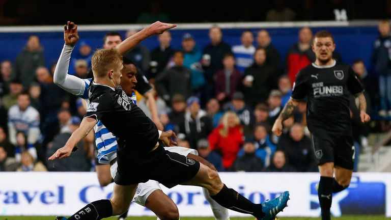 Leroy Fer: Opens the scoring for QPR