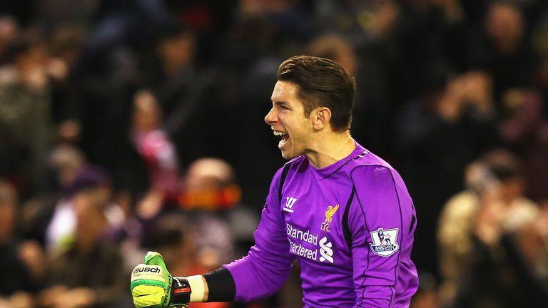 Brad Jones spent five years at Liverpool
