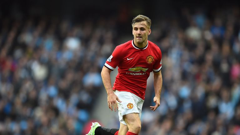 Luke Shaw: Delighted to be back on the pitch