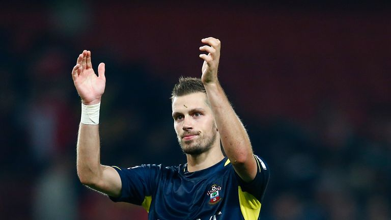Morgan Schneiderlin: Heart set on Champions League