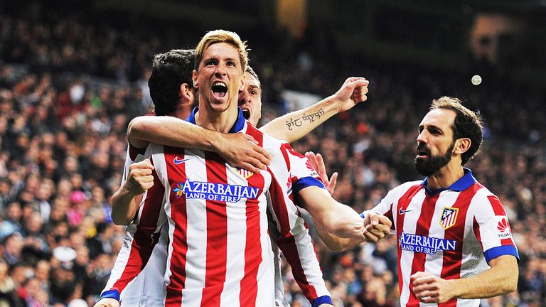 Fernando Torres has been on fine form since returning to Atletico