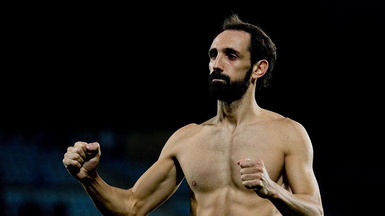 Juanfran: Goal for Deportivo