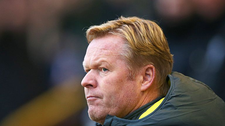 Ronald Koeman believes leaving Southampton last summer was a mistake for certain players