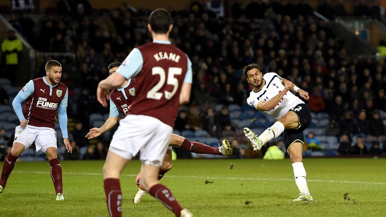 Nacer Chadli fired Spurs ahead in the second half