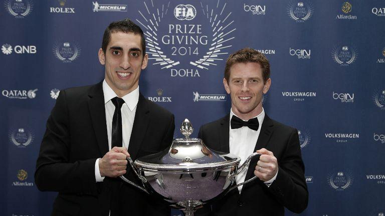 Sebastien Buemi and Anthony Davidson won the 2014 WEC title