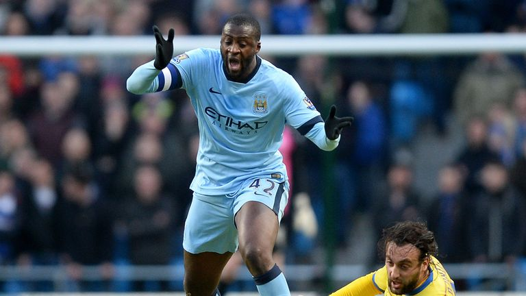 Yaya Toure: Manchester City midfielder is African Player of the Year
