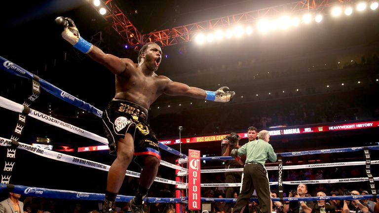 Bermane Stiverne: Claimed the WBC belt last May