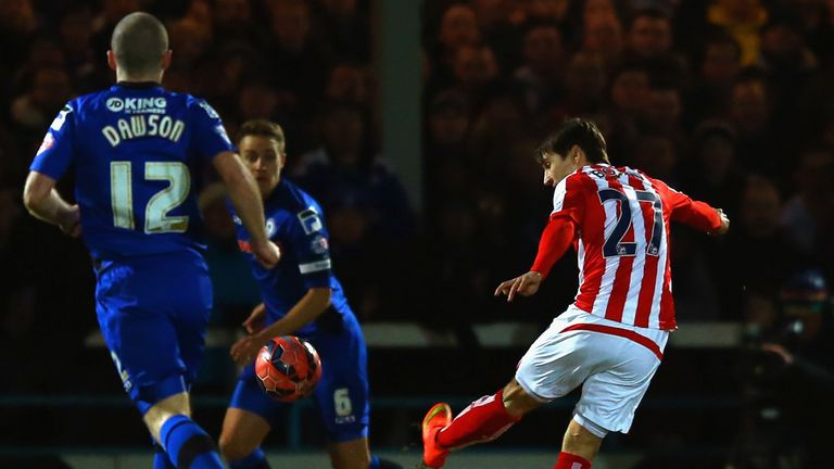Bojan struck a volley from 20 yards to open the scoring at Spotland