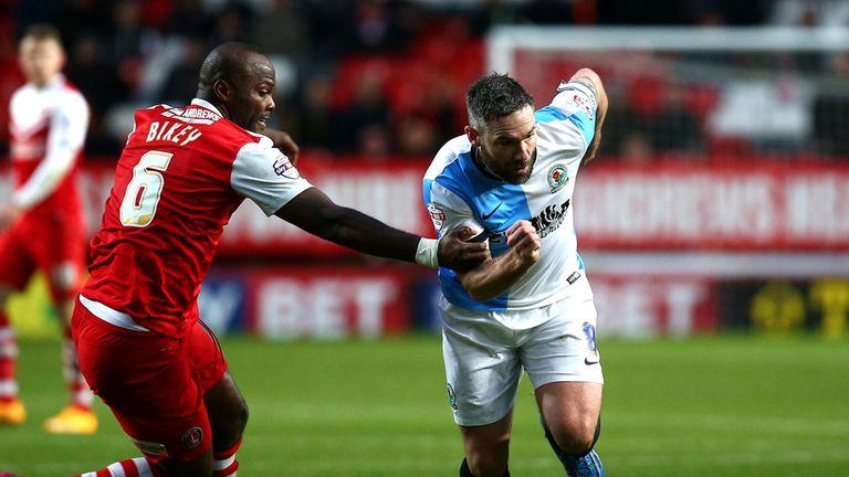 David Dunn: Rounds Charlton defender Andre Bikey-Amougou