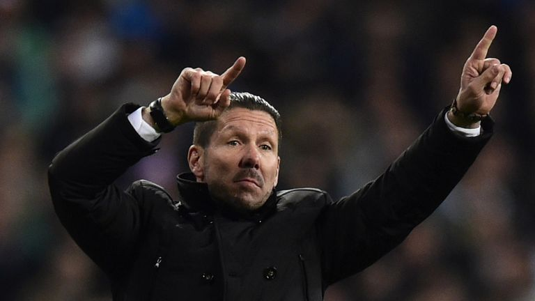 Diego Simeone: Thought to be in the market for a midfielder