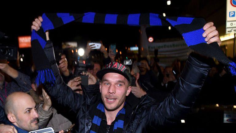 Lukas Podolski: Loan deal a step closer